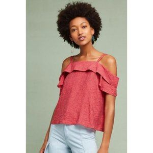 Maeve Mandalay Off The Shoulder Tank Blouse XS